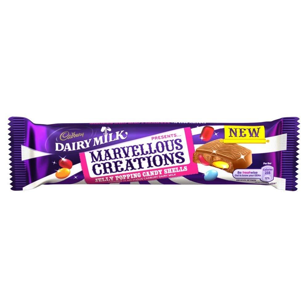 Cadbury Jelly Popping Candy 47g