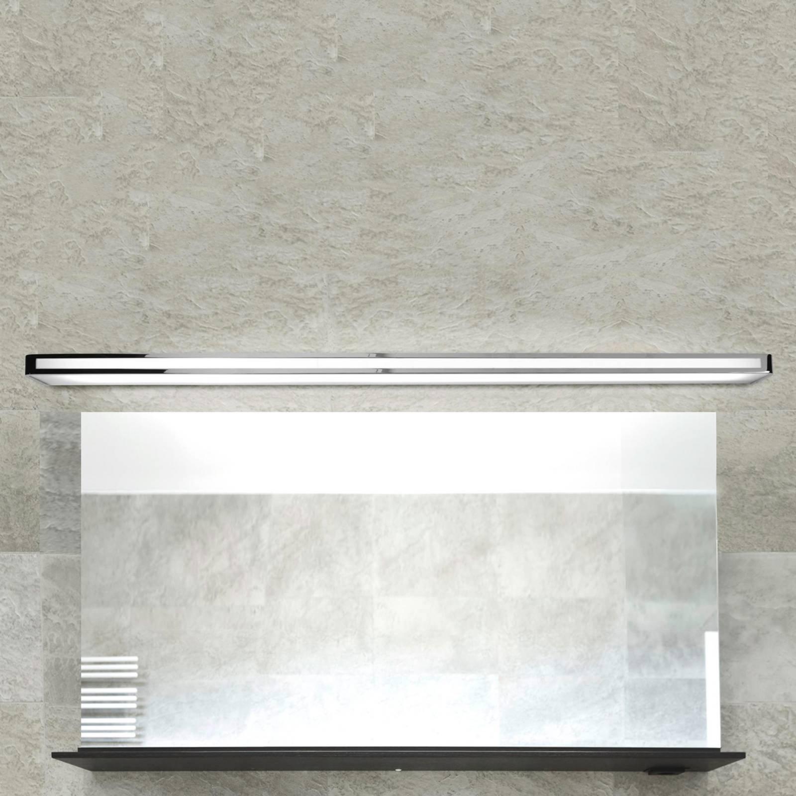 Tidløs LED-vegglampe Arcos, IP20 150 cm, krom