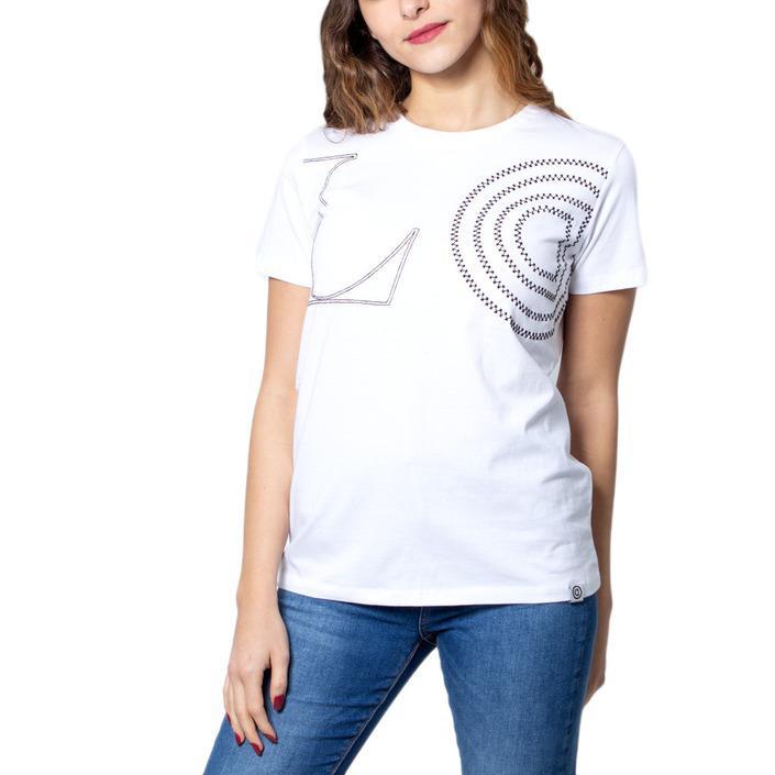 Desigual Women's T-Shirt White 171495 - white S