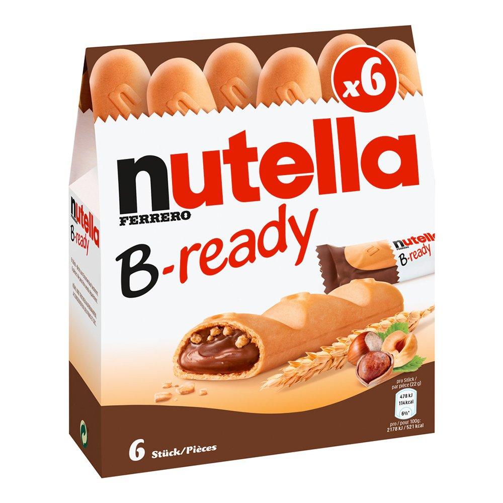 Nutella B-Ready - 6-pack