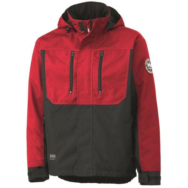 Helly Hansen Workwear Berg Jacka röd/svart S