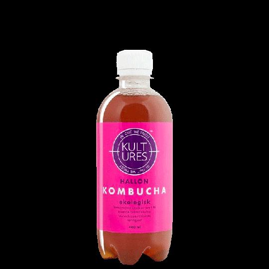 Kultures Kombucha Raspberry, 400 ml