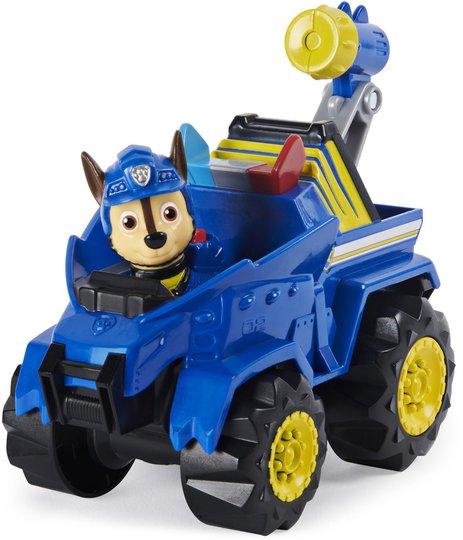 Paw Patrol Figur Med Kjøretøy Chase Dino Deluxe