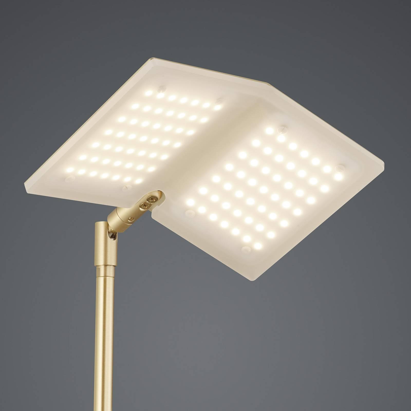 BANKAMP Book LED-lattiavalaisin messinki
