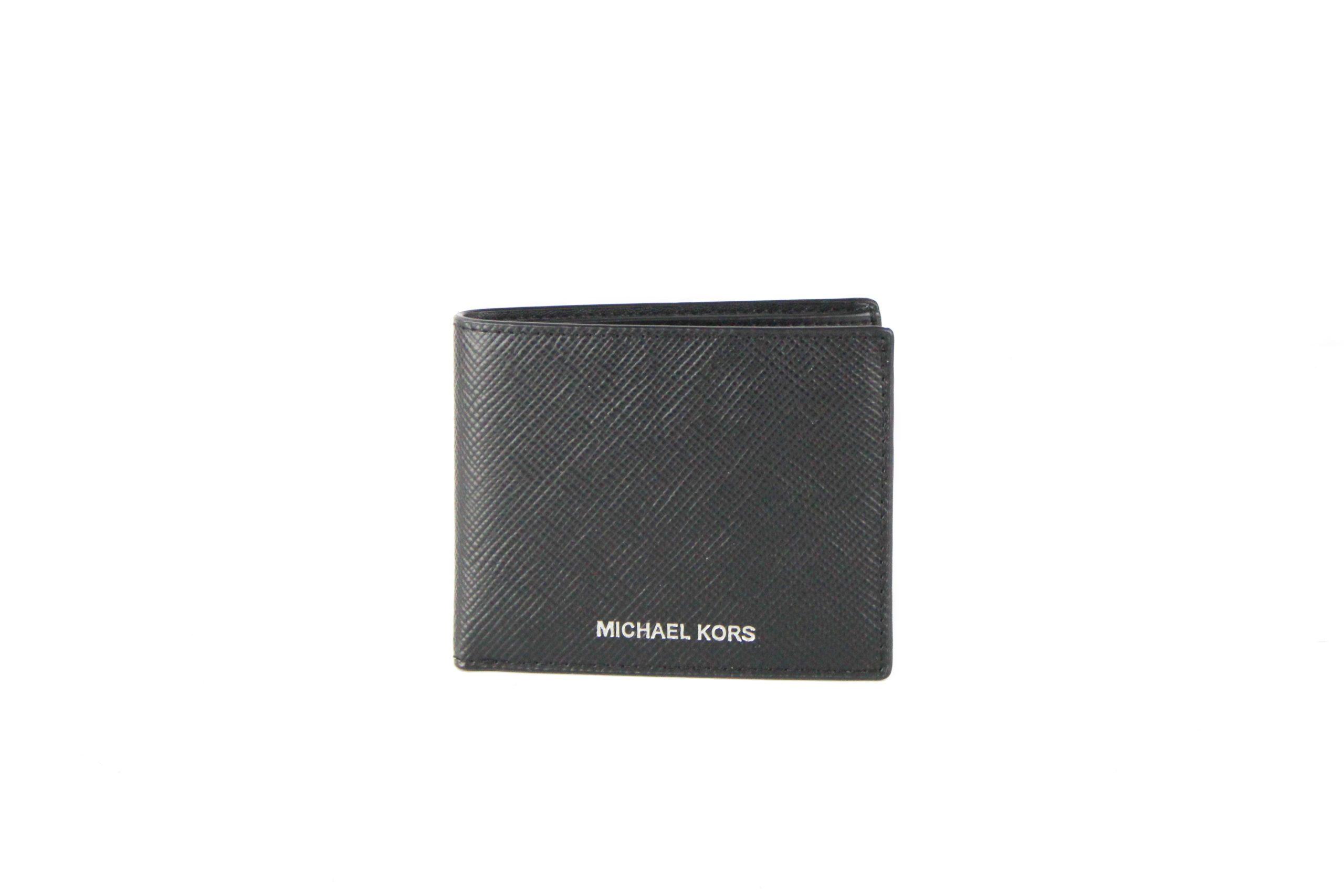 Michael Kors Men's Harrison Wallet Black 49153