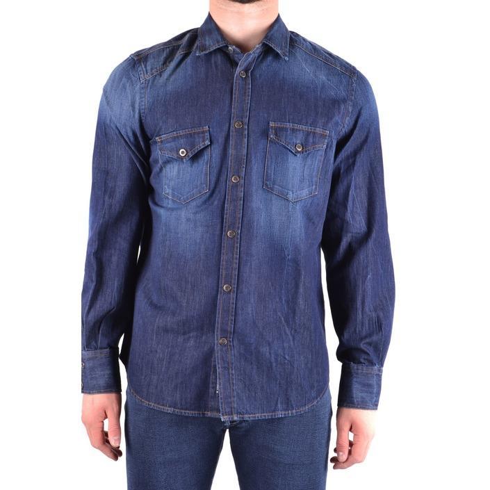 Jacob Cohen Men's Shirt Blue 163032 - blue L