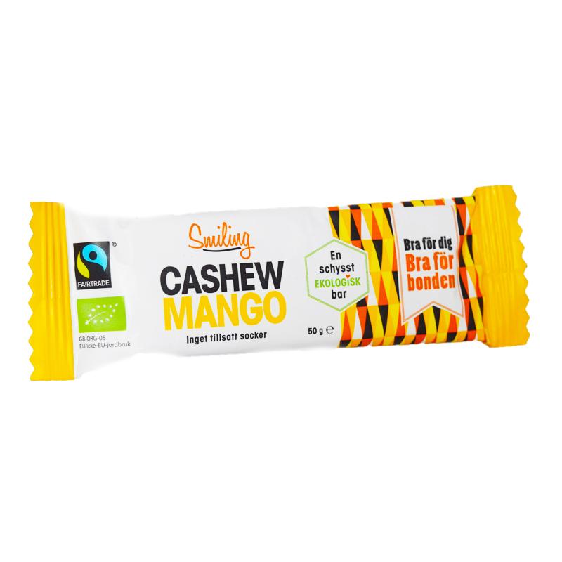 Cashew- & Mangobar 50g - 22% rabatt