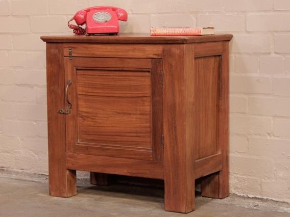 Vintage Teak Cabinet Brown