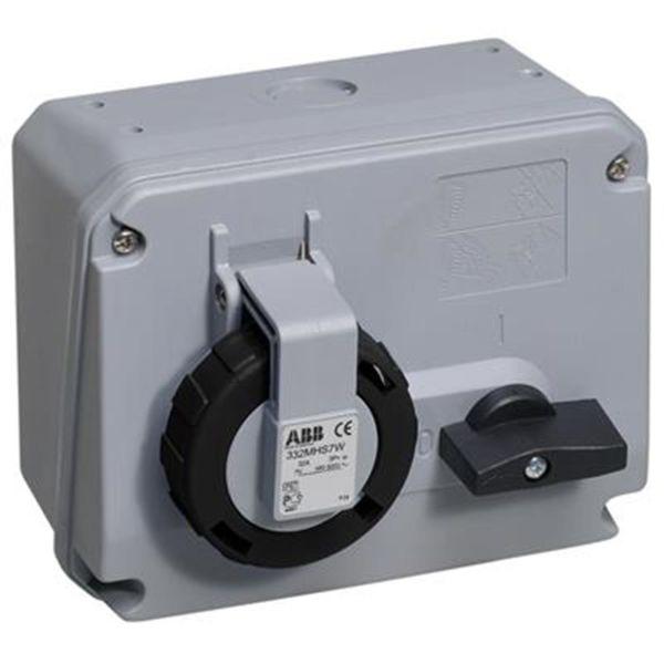 ABB 2CMA167857R1000 Vegguttak IP67, 3P+J, 50-60 Hz 500 V
