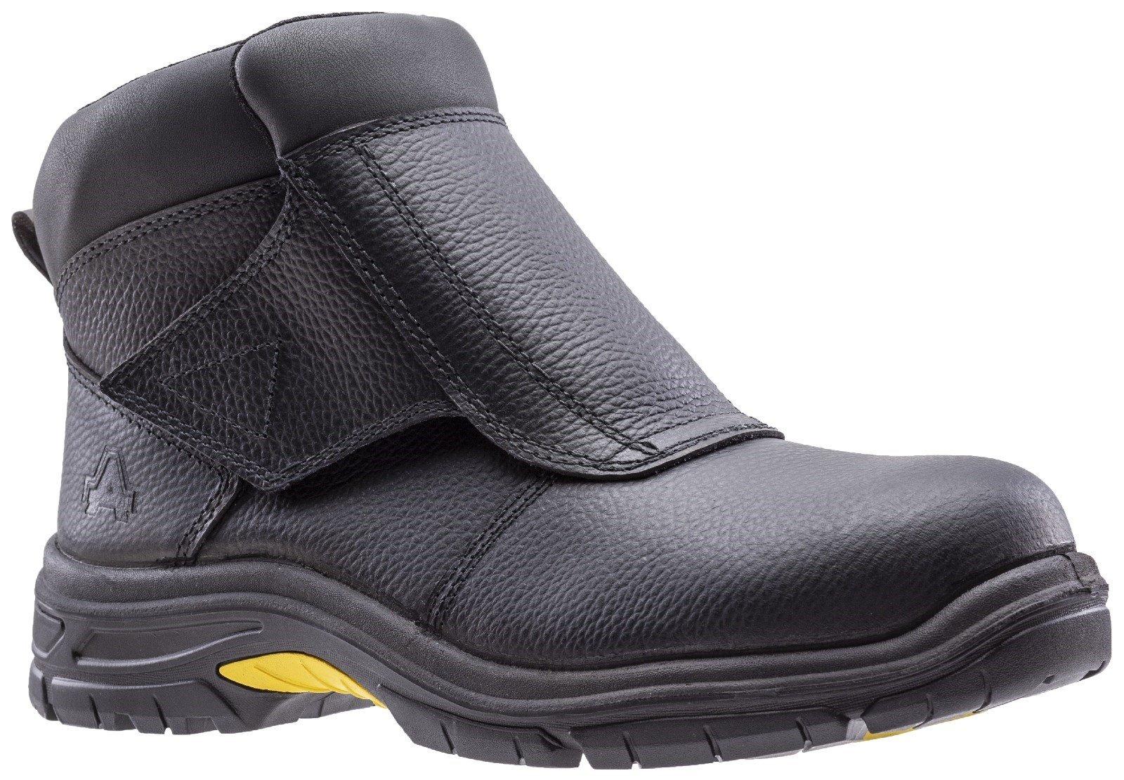 Amblers Unisex Safety Welding Boot Black 29417 - Black 6