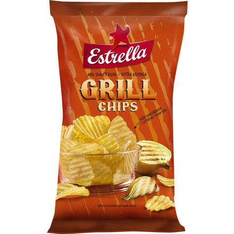 Estrella Grillchips 40g