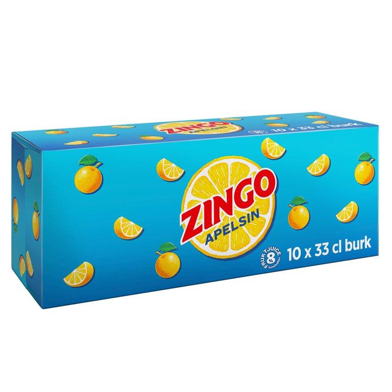 Zingo Apelsin 10-pack - 31% rabatt