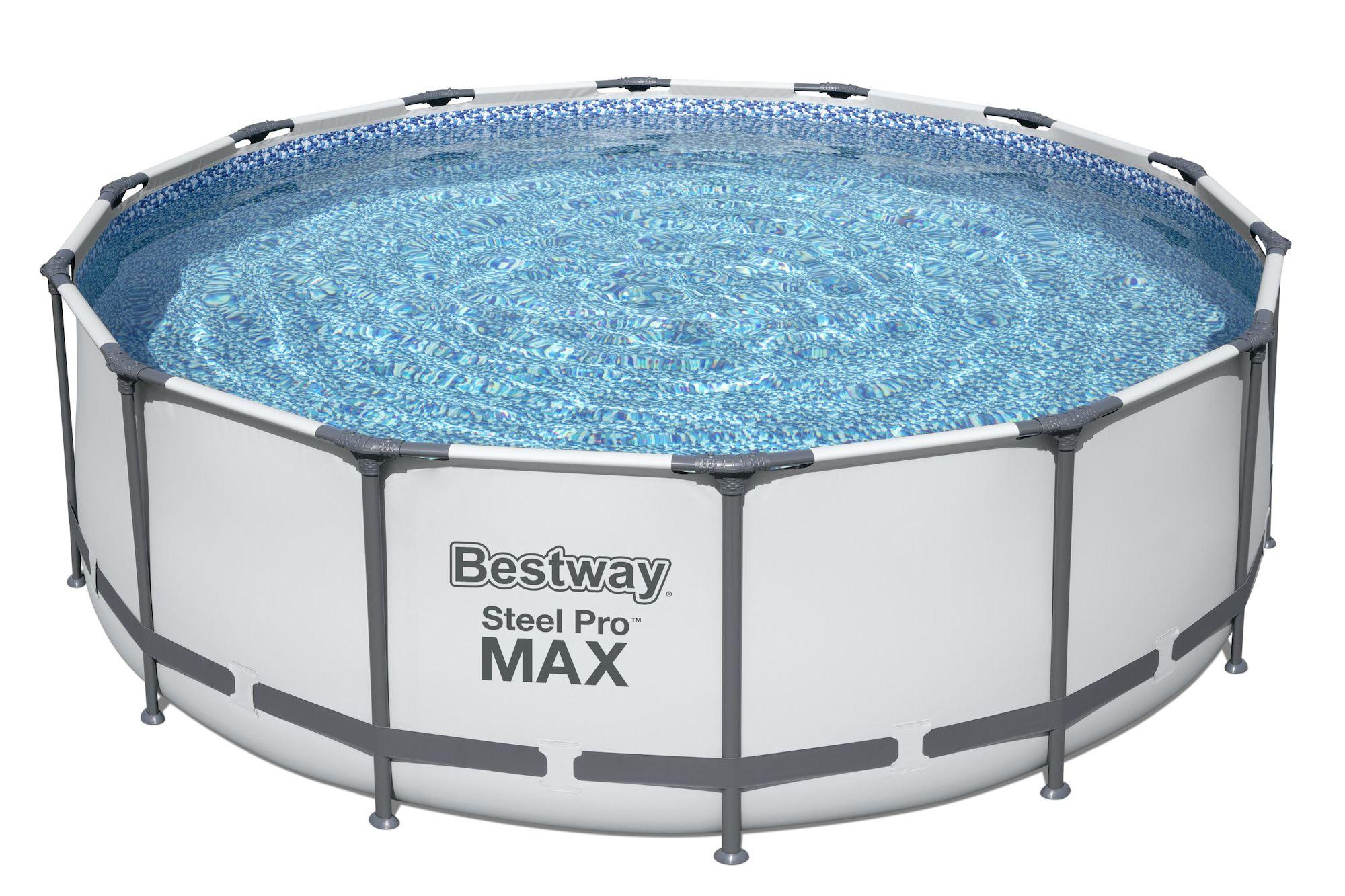 Bestway Steel Pro MAX Pool m. Tillbehör 4.27m x 1.22m