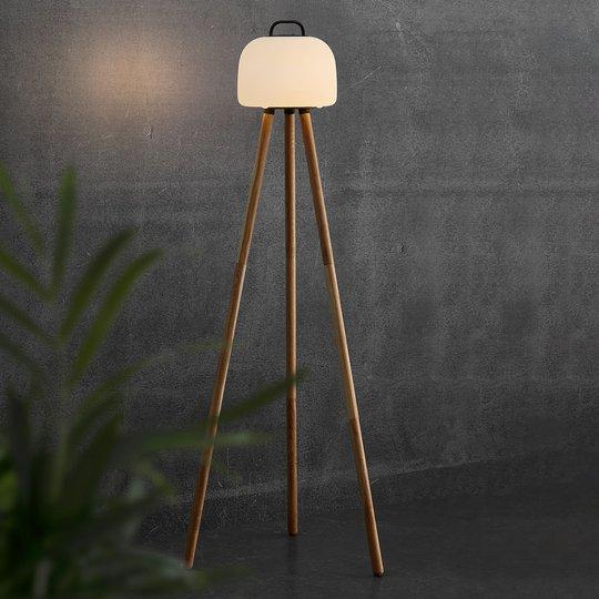 LED-lattiavalo Kettle Tripod, varjostin 22 cm