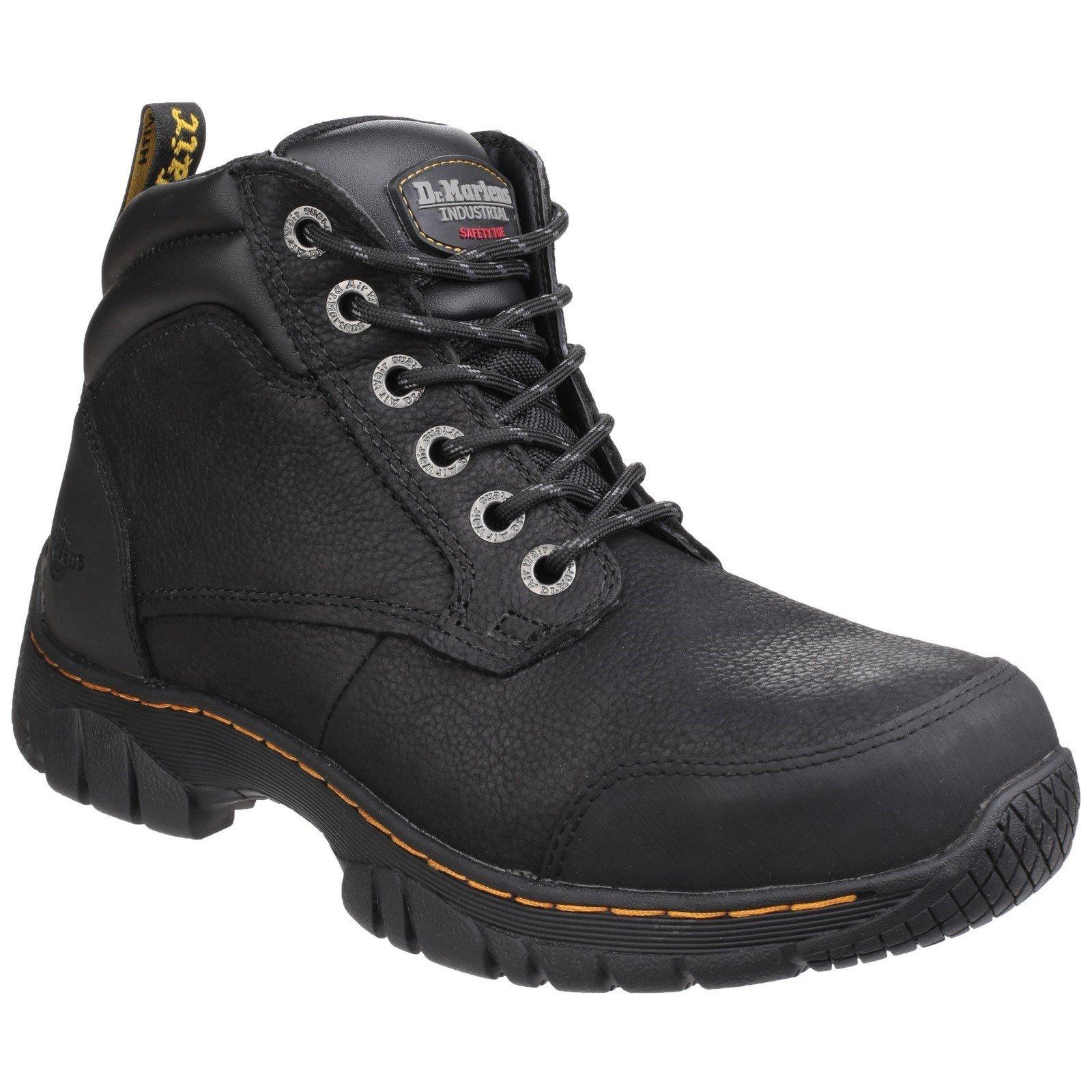Dr Martens Unisex Riverton SB Lace up Hiker Boot Black 24533 - Black 12