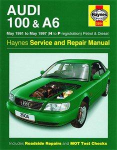 Haynes Reparationshandbok, Audi 100 & A6 Petrol & Diesel, Universal