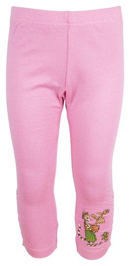 Gubben og Katten Capri Leggings, Pink, 92