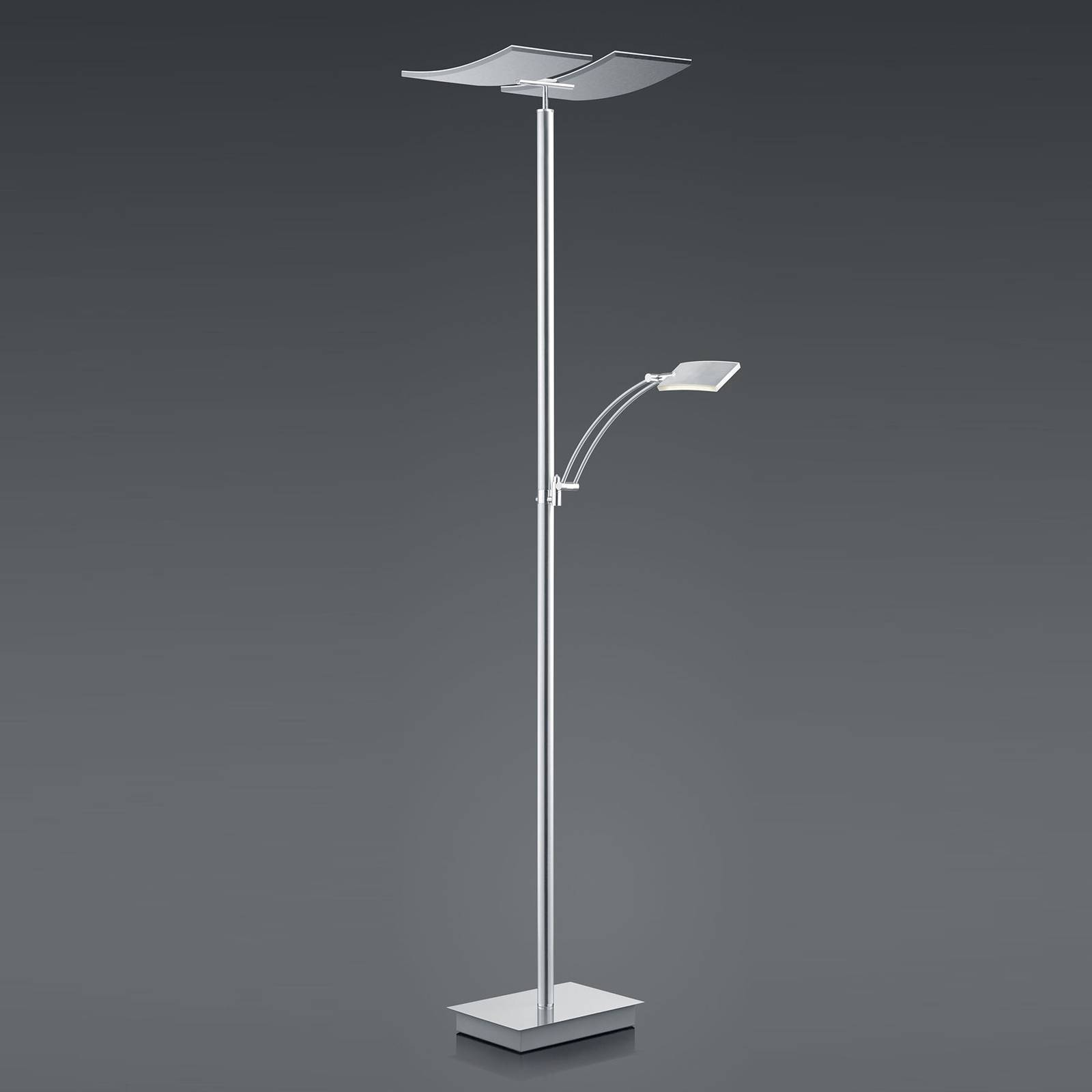 B-Leuchten Duo LED-lattiavalaisin, kaukosäädin
