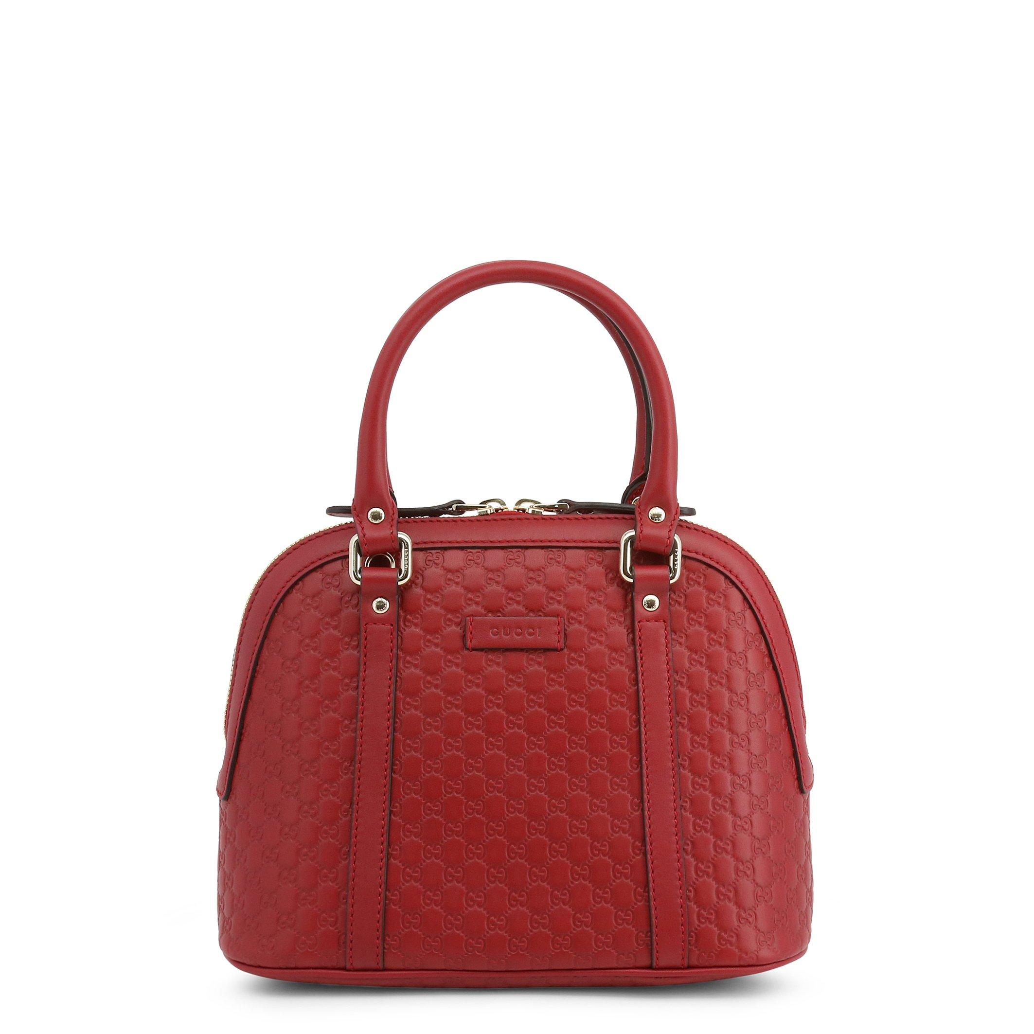 Gucci Women's Handbag Black 449654 - red NOSIZE