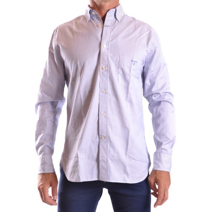 Gant Men's Shirt Blue 161055 - blue S