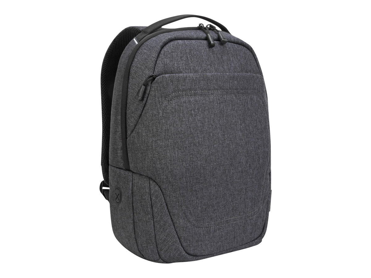 """Targus - Groove X2 Compact Backpack - designed for Laptops up to 15"""" ( Charcoal )"""