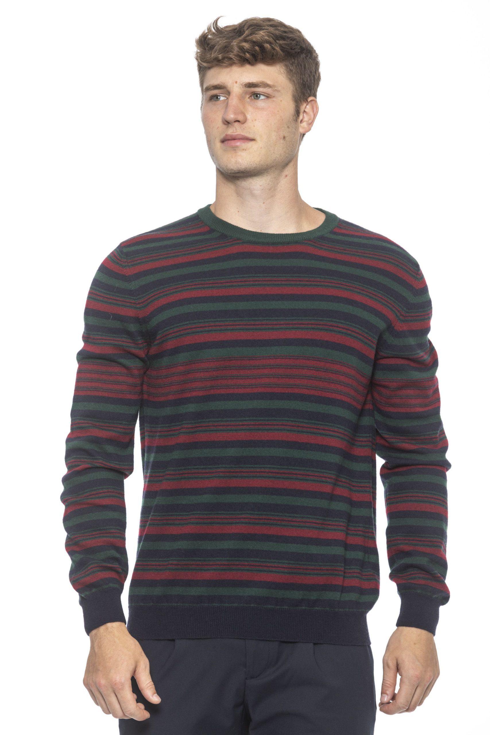 Alpha Studio Men's Notte Sweater Blue AL1191995 - IT46 | S