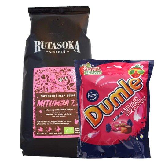 Kaffebönor + Dumle Jordgubb - 42% rabatt