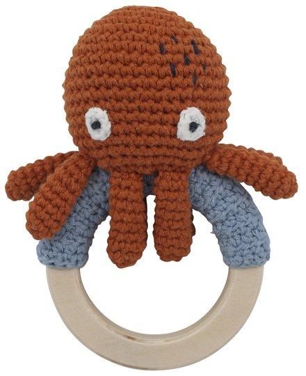 Sebra Morgan The Octopus Heklet Skrangle, Rusty Red