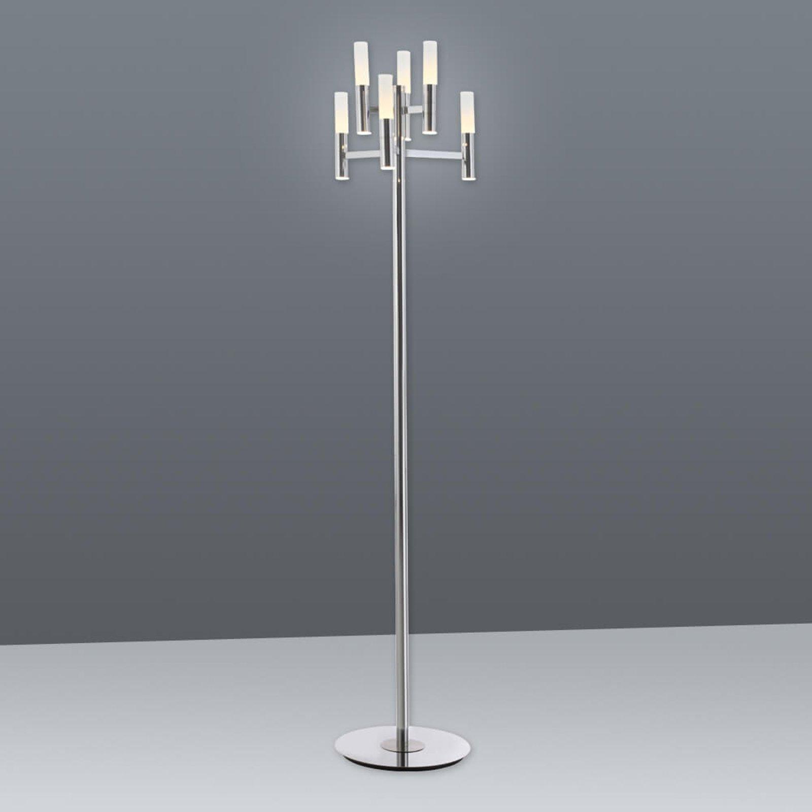Irina LED-gulvlampe med touchdimmer - 6lk