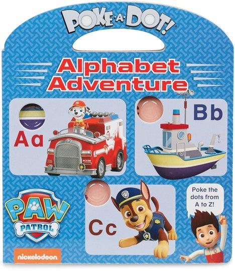 Melissa & Doug Paw Patrol Poke-A-Dot Alfabet Eventyr