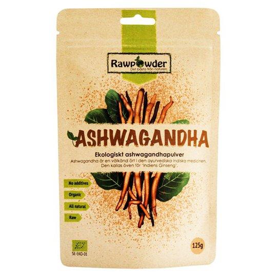 Rawpowder Ekologiskt Ashwagandhapulver, 125 g