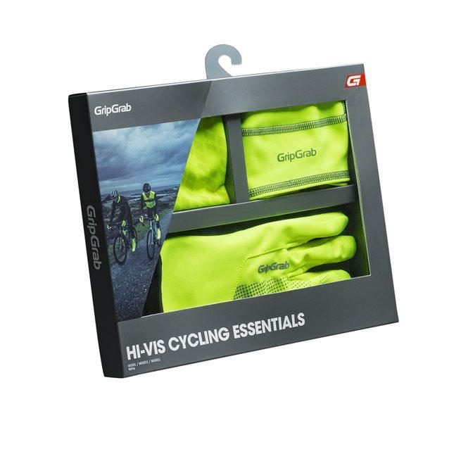 GripGrab Hi-Vis Essentials, Cykelhandskar vinter