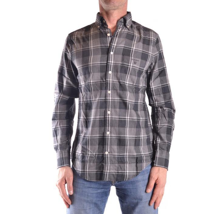 Gant Men's Shirt Grey 161090 - grey M