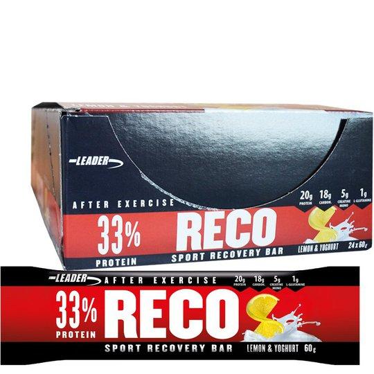 "Hel Låda Proteinbars ""Recovery Lemon & Yoghurt"" 24 x 60g - 67% rabatt"
