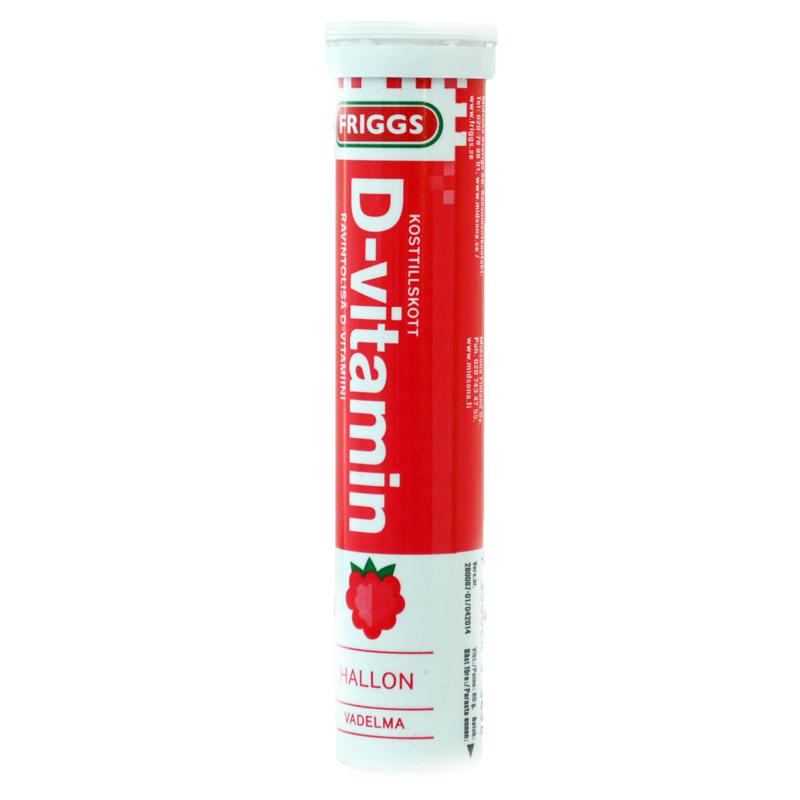 Brustablett Vitamin-D 20-pack - 50% rabatt