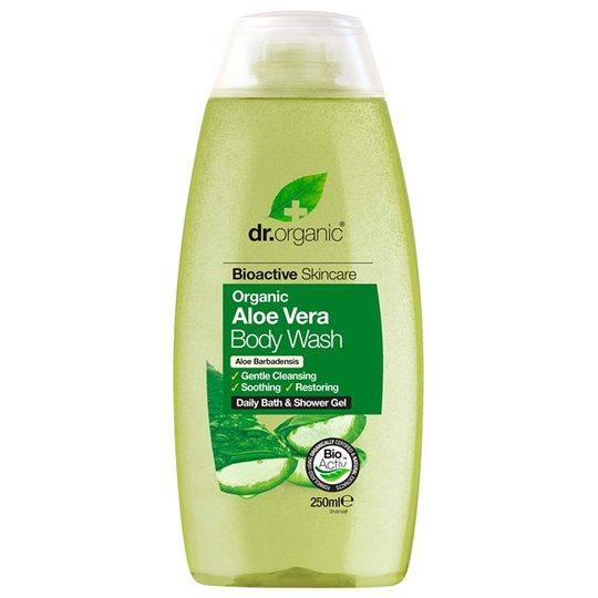 Dr. Organic Aloe Vera Body Wash, 250 ml