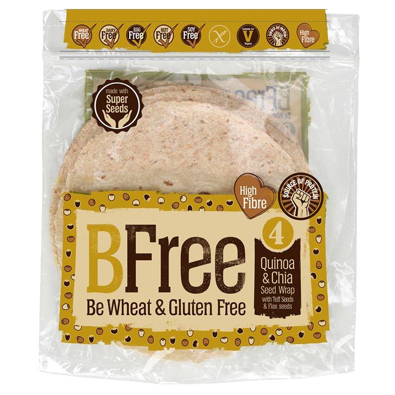 Wraps Fullkorn Glutenfria 4 x 42g - 47% rabatt