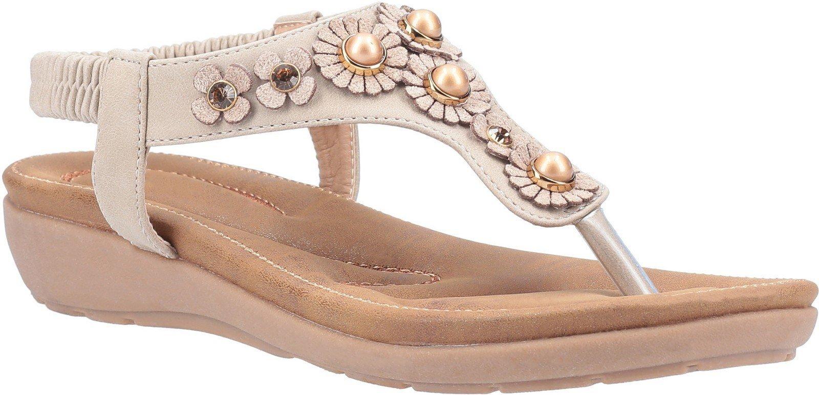 Fleet & Foster Women's Phoebe Slip On Sandal Various Colours 30100 - Taupe 3