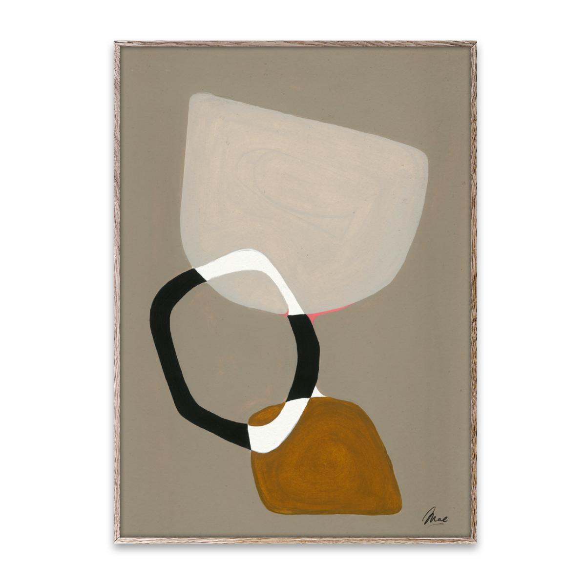 Paper Collective Poster Composition 03 50x70 cm