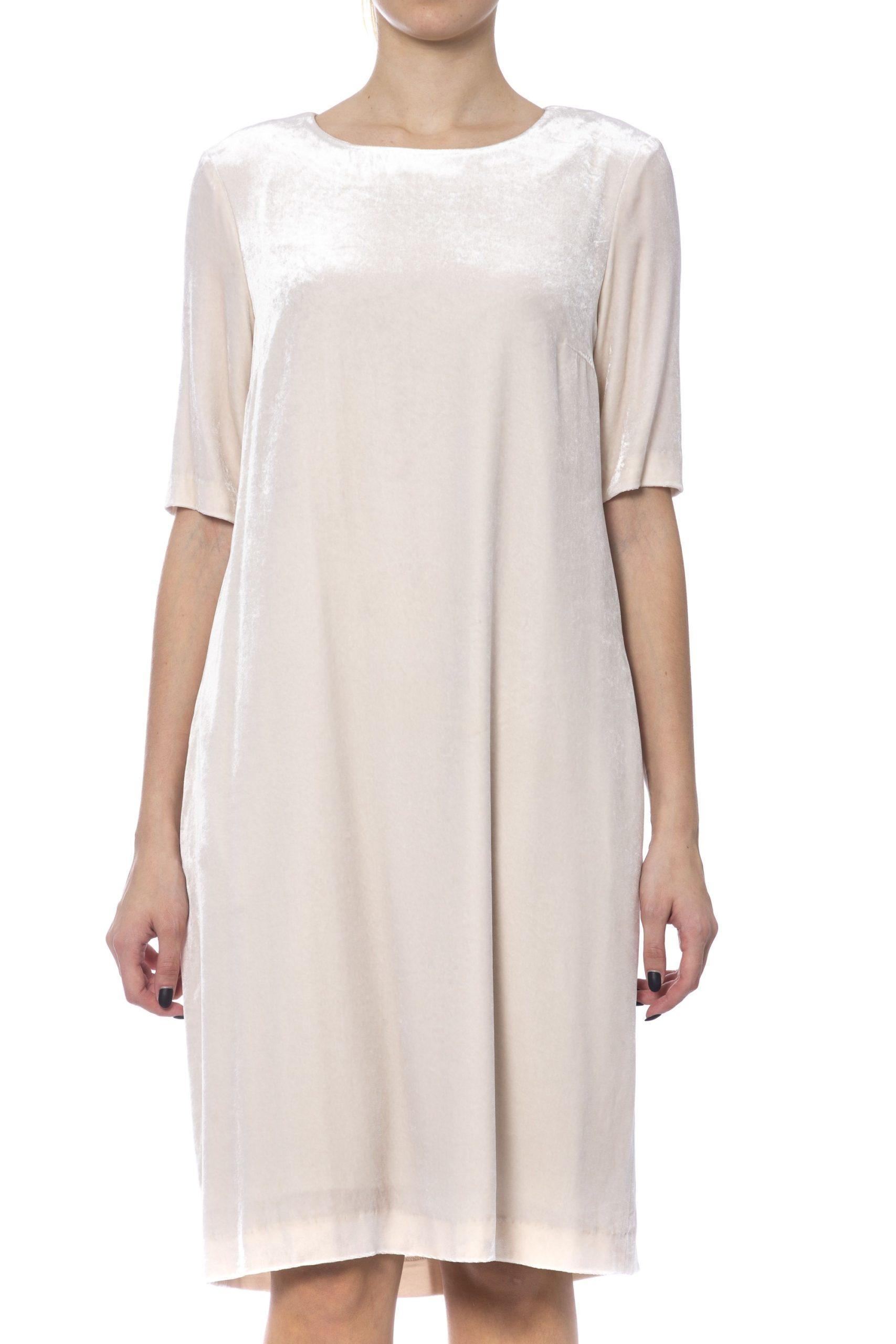 Peserico Women's Dress Beige PE993472 - IT42 | S