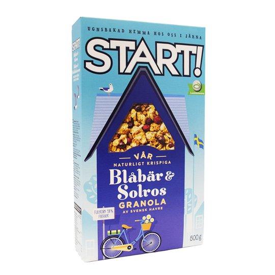 Granola Blåbär & Solros 500g - 72% rabatt