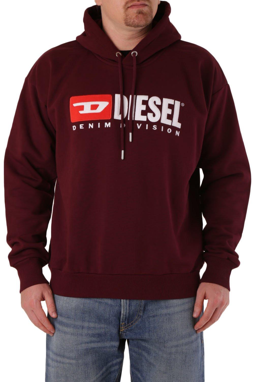 Diesel Men's Sweatshirt Various Colours 294036 - red M