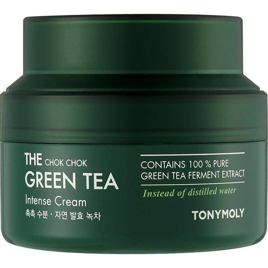 The Chok Chok Green Tea Intense Cream, 60 ml Tonymoly Kasvovoiteet