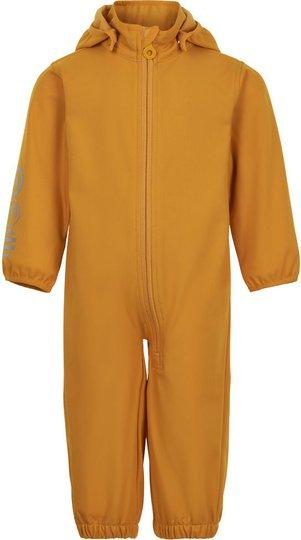 Minymo Softshelldress, Golden Orange, 80