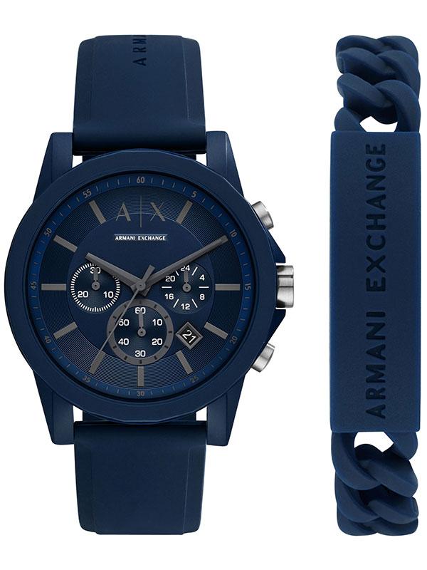Armani Exchange Outerbanks Gift Set AX7128 - Herrklocka