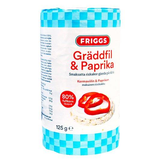 Riskakor Gräddfil & Paprika - 33% rabatt