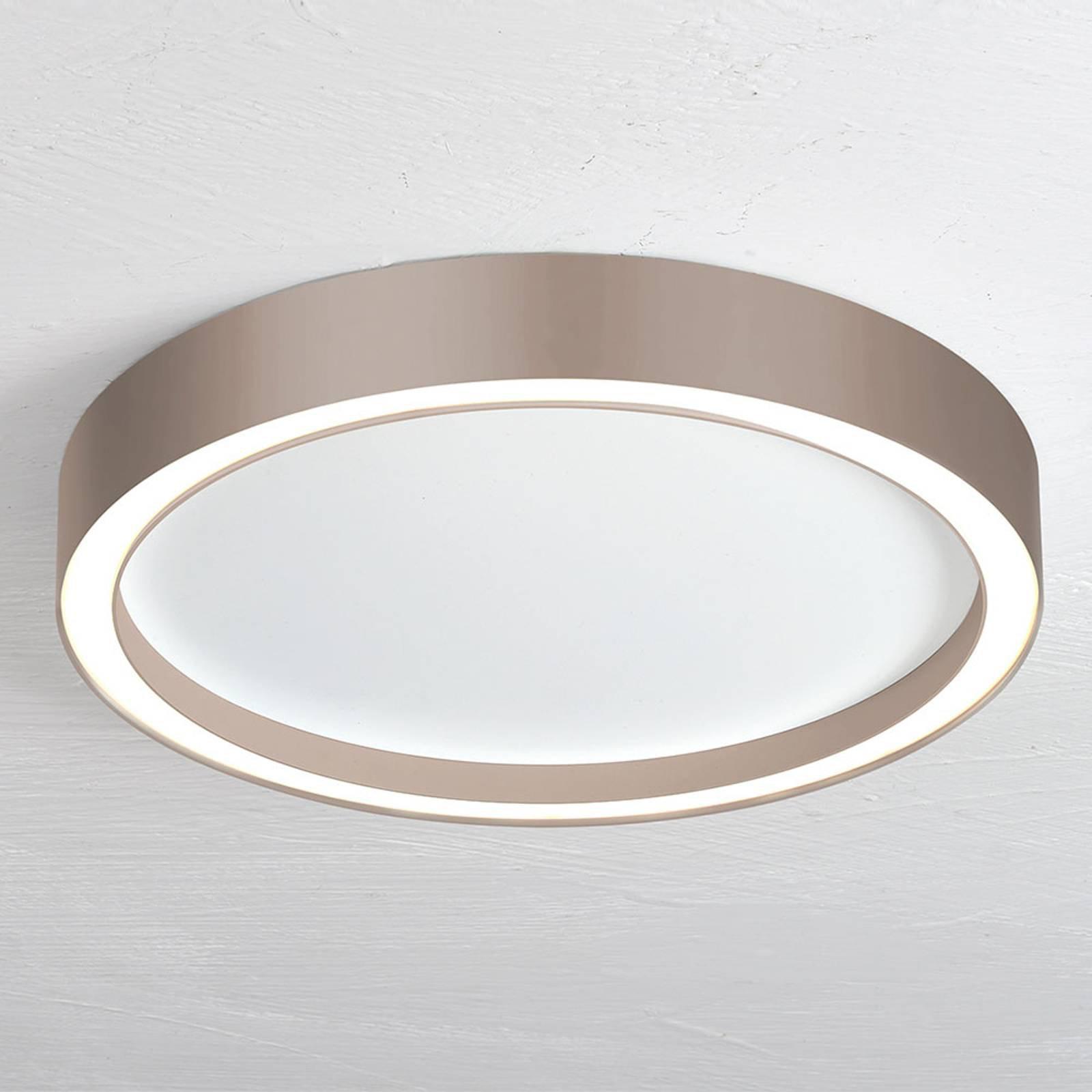 Bopp Aura LED-taklampe Ø 40cm hvit/taupe