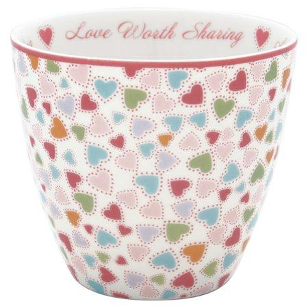 Love Latte Cup pastel mix