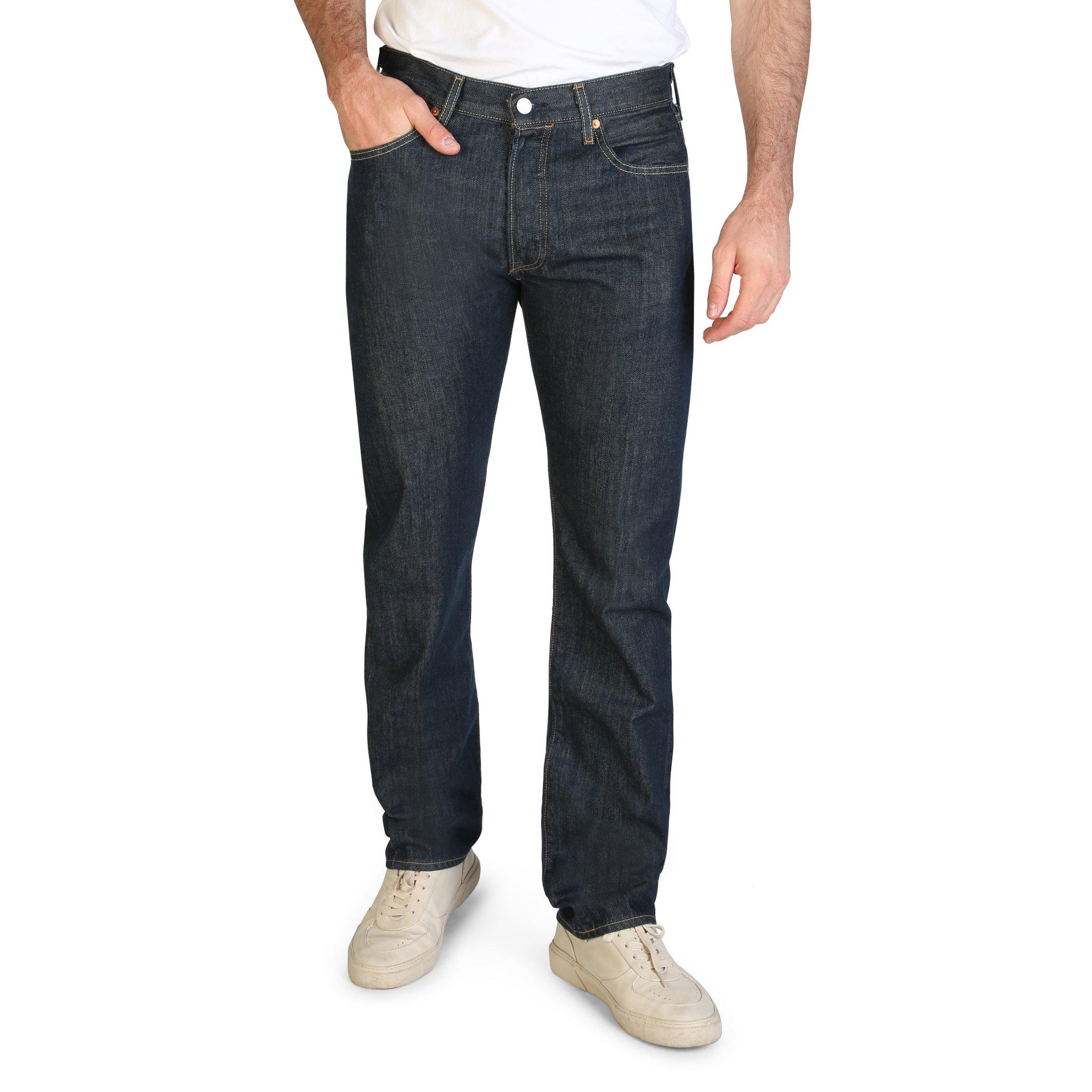 Levis Men's Jeans Blue 501 - blue-1 31