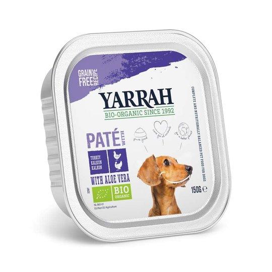 Yarrah Organic Dog Turkey Paté Grain Free 150 g